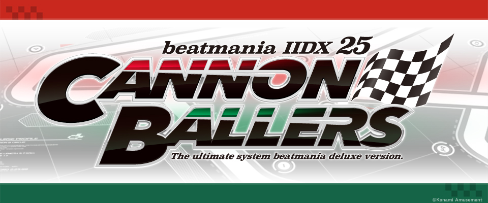 beatmania ⅡDX  CANNON BALLERS